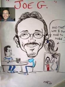 2 handed mikey 513 tap mike 513 827 6453 caricature artist